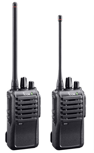 ICOM IC-F3001 ICOM IC-F4001 UHF and VHF Handheld Portable Two Way Radio for Industrial Use